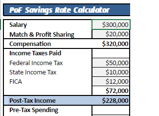 Savings Rate Calculator